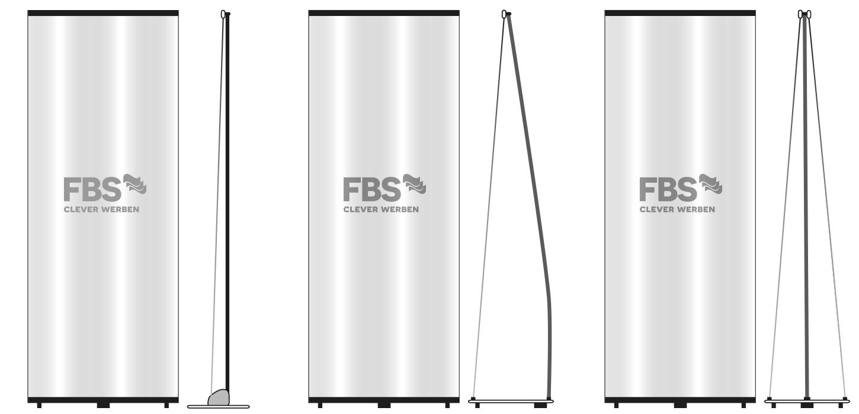 Roll-Up Displays Standard, L und X - FBS